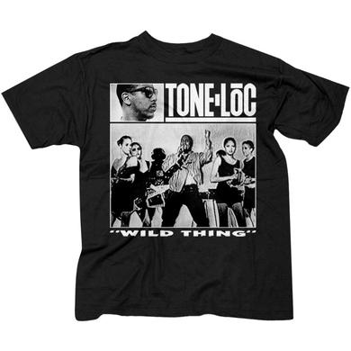 "Tone Loc ""Wild Thing"" Men's Black T-shirt"