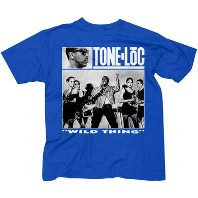 "Tone Loc ""Wild Thing"" Men's Royal Blue T-shirt"