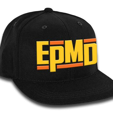 "EPMD ""Classic Logo"" Black Snap Back Hat"
