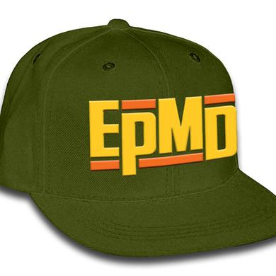 "EPMD ""Classic Logo"" Army Green Snap Back Hat"