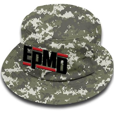 "EPMD ""Classic Logo"" Digital Camo Bucket Hat"