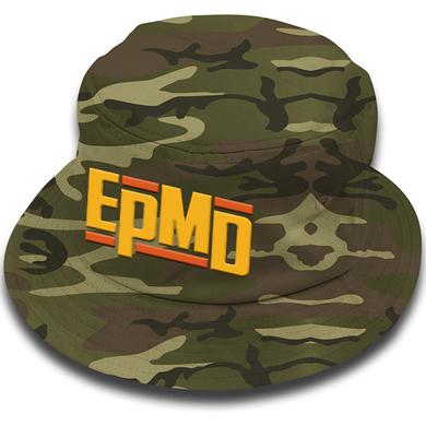 "EPMD ""Classic Logo"" Dark Green Camo Bucket Hat"