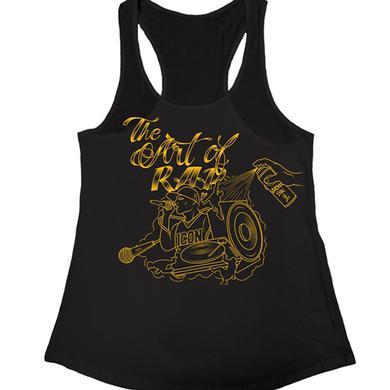 """Art of Rap """"Illustration"""" Women's Racer Back Tank Top"""