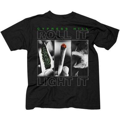 """Cypress Hill """"Roll It Up"""" t-shirt"""