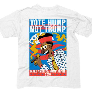 """Digital Underground LIMITED EDITION """"Vote Hump"""" White T-Shirt"""