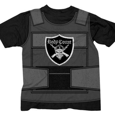 "Body Count LIMITED EDITION ""Bulletproof Vest"" black t-shirt"