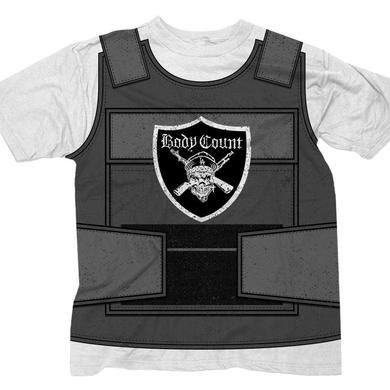 "Body Count LIMITED EDITION ""Bulletproof Vest"" white t-shirt"