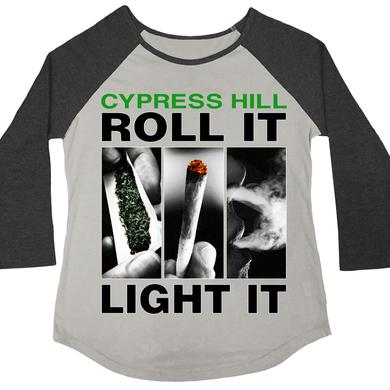 "Cypress Hill ""Roll It Up"" 3/4 sleeve women's raglan"