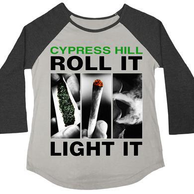 """Cypress Hill """"Roll It Up"""" 3/4 sleeve women's raglan"""