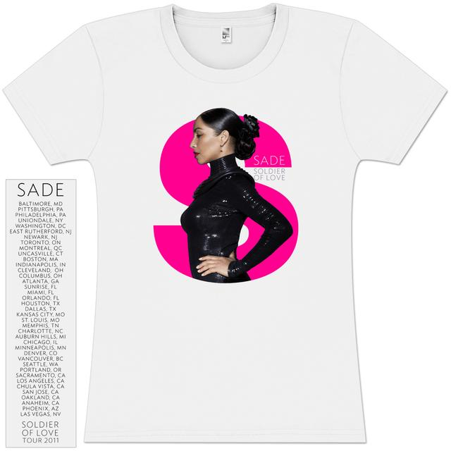 Sade S 2011 Tour Girlie T-Shirt