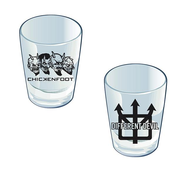 Chickenfoot Different Devil Shot Glass