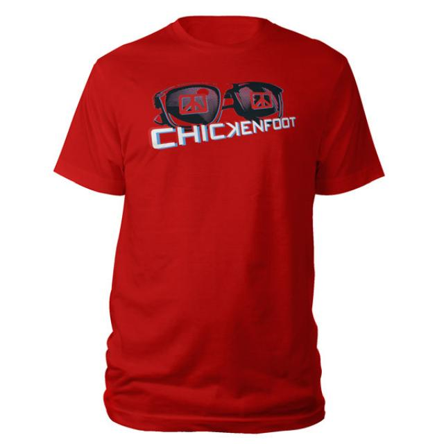 Exclusive - Chickenfoot 3D Glasses Tee