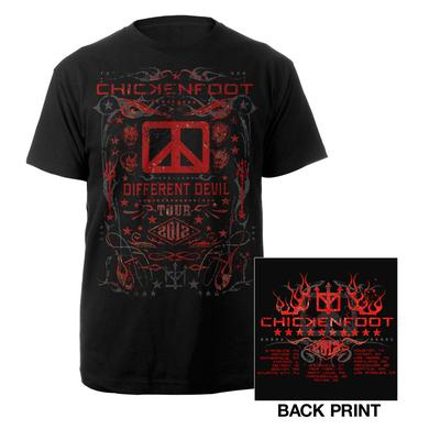 Chickenfoot Different Devil Tour Tee