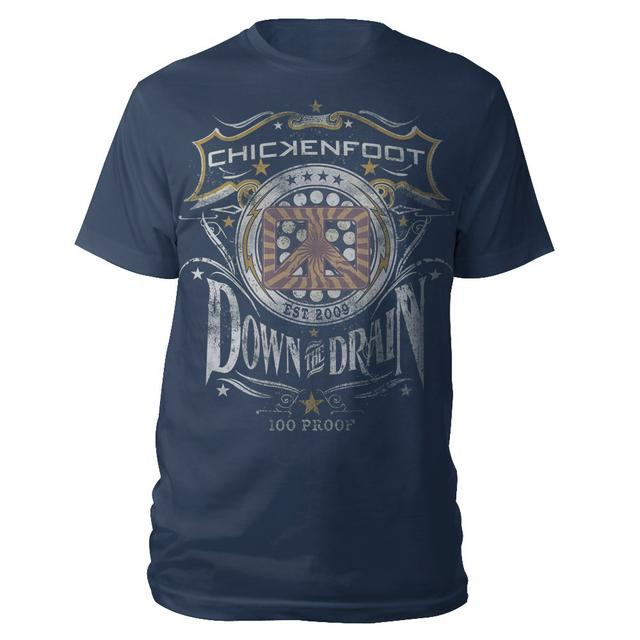 Chickenfoot Down The Drain Tee