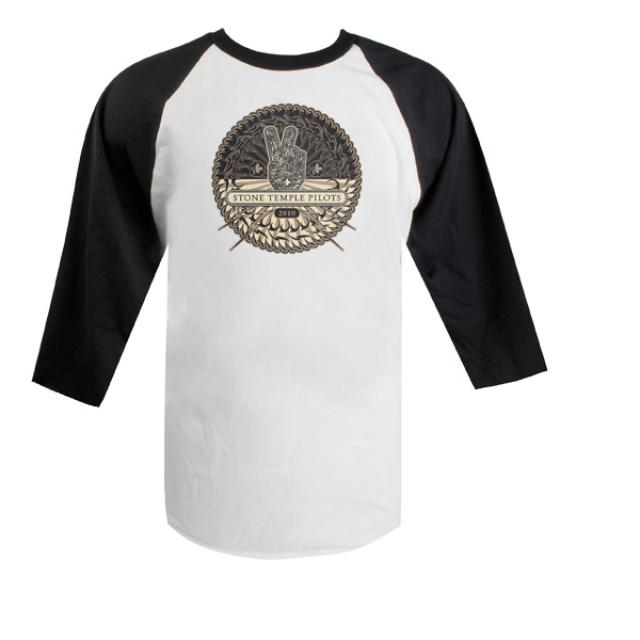 Stone Temple Pilots STP Album Artwork Raglan