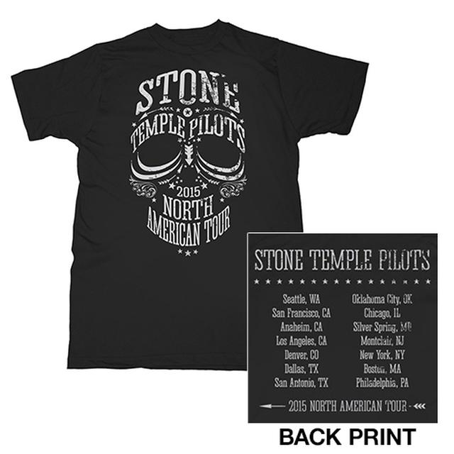 Stone Temple Pilots STP 2015 Tour Tee