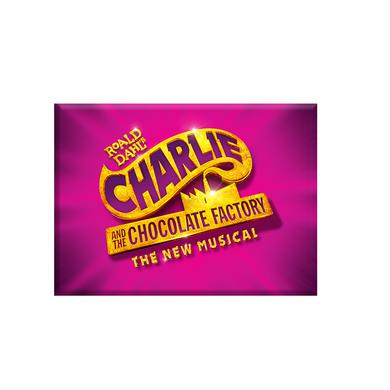 Charlie and the Chocolate Factory Logo Magnet