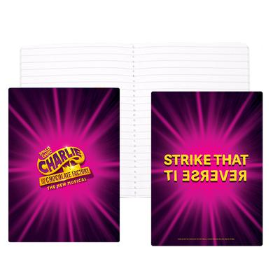 Charlie and the Chocolate Factory Idea Notebook