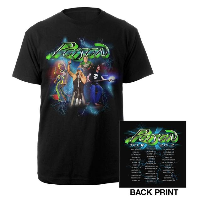 Poison Live Band Photo Event Tee