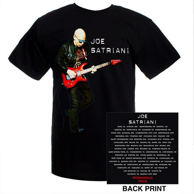 Joe Satriani Wormhole Tour Tee