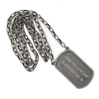 John Mellencamp Dogtag Necklace