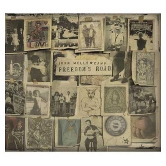 John Mellencamp  Freedom's Road CD