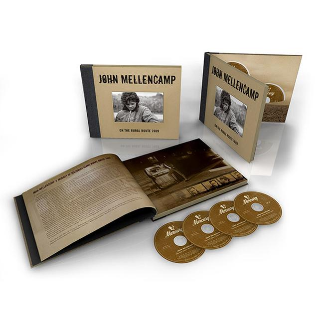 John Mellencamp On The Rural Route 7609 - 4 CD Box Set