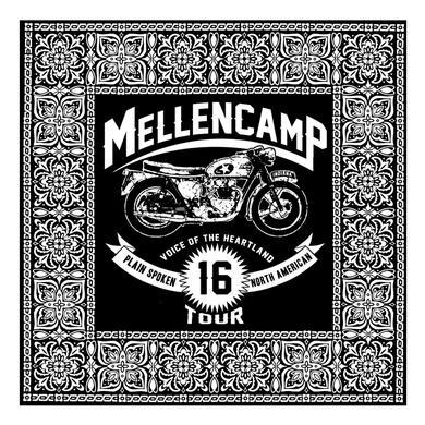 John Mellencamp Plain Spoken Bandana