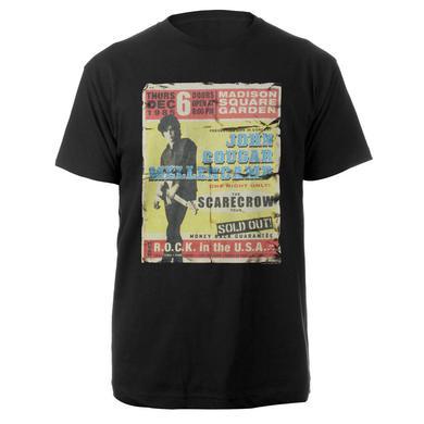 John Mellencamp  Retro Poster Shirt