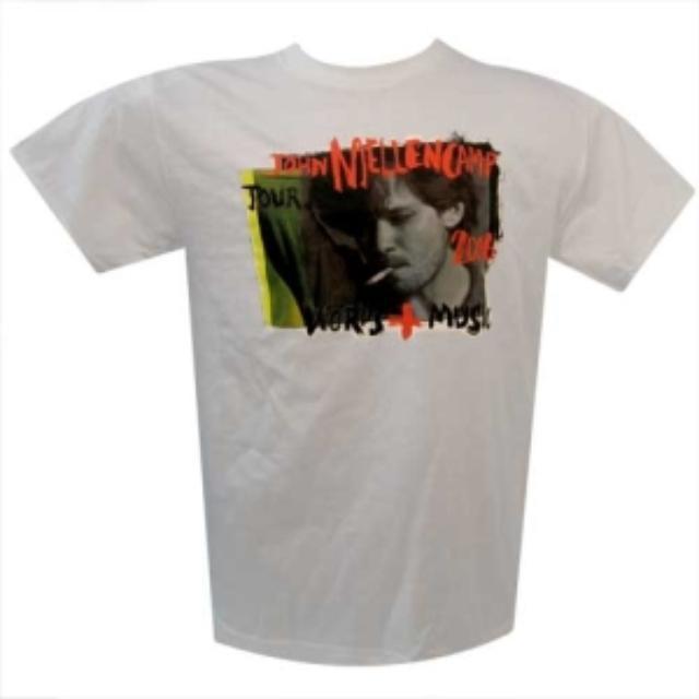 John Mellencamp John Cougar Words & Music Tour T-Shirt
