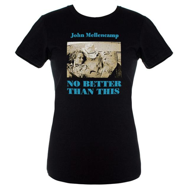 John Mellencamp Women's No Better Than This Album Cover Tee