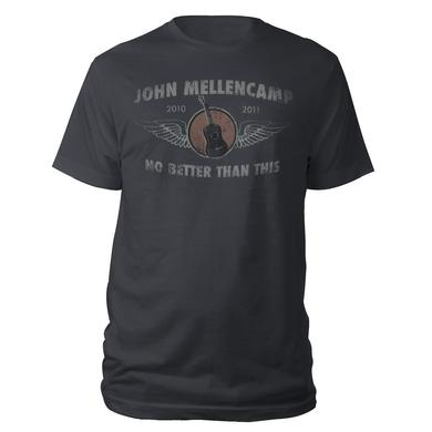 John Mellencamp Guitar Wings No Better Than This 2010-2011 Tour Tee