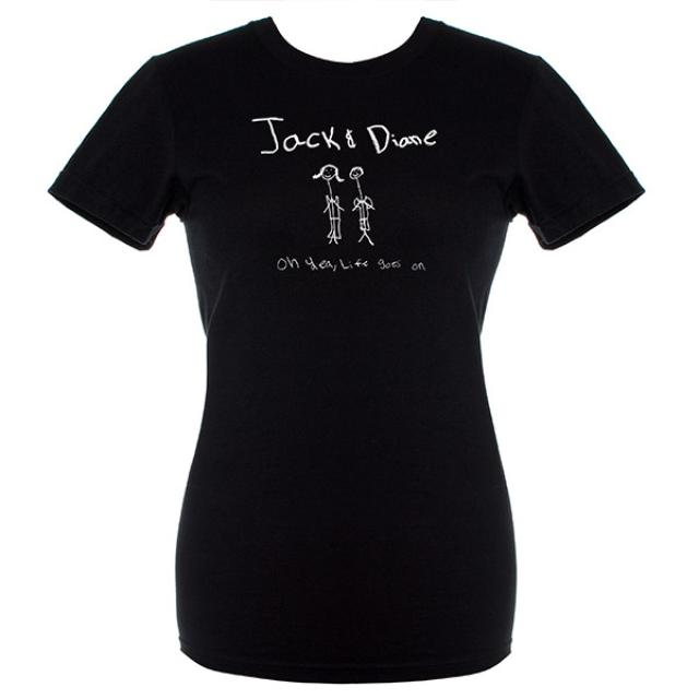 John Mellencamp Jack & Diane Woman's Tee