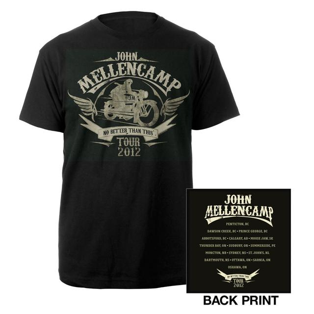 John Mellencamp Motorcycle Tour Tee
