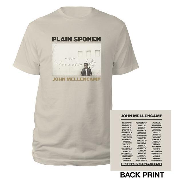 John Mellencamp Plain Spoken Album Tee