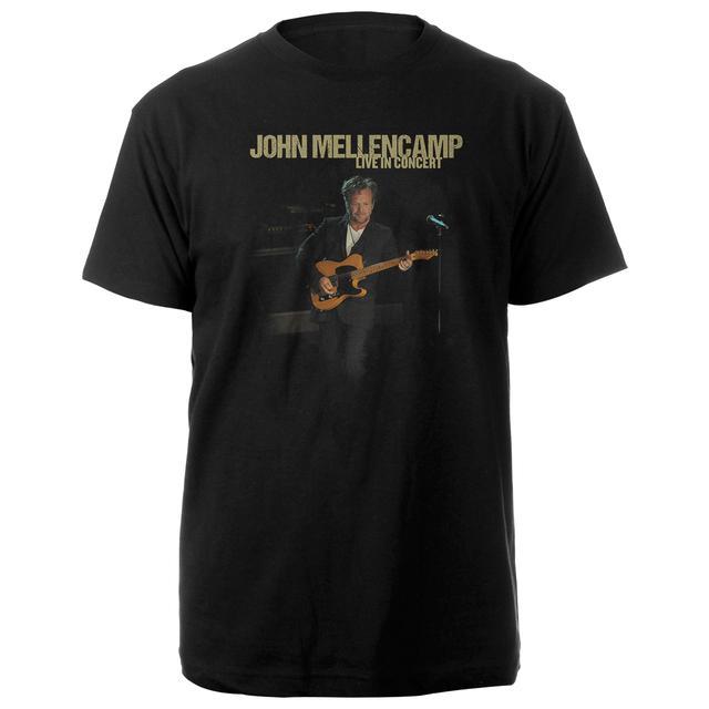 John Mellencamp Plain Spoken Spring 2016 Itinerary Tee