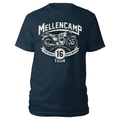 John Mellencamp Motorcycle 2016 Tour Tee