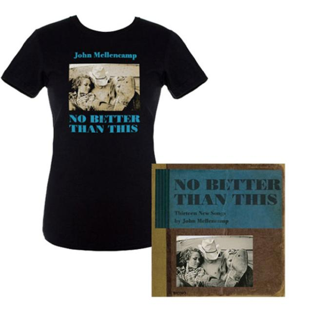 Save! John Mellencamp New Album 'No Better Than This' and Women's Album Cover Tee Bundle