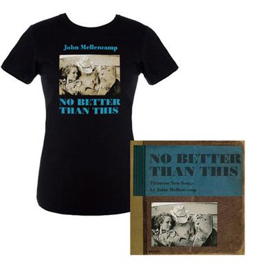 Save! John Mellencamp New Album 'No Better Than This' and Women's Album Cover Tee Bundle