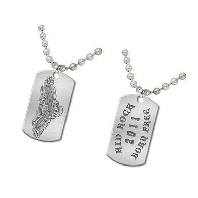 Kid Rock Dog Tag Necklace