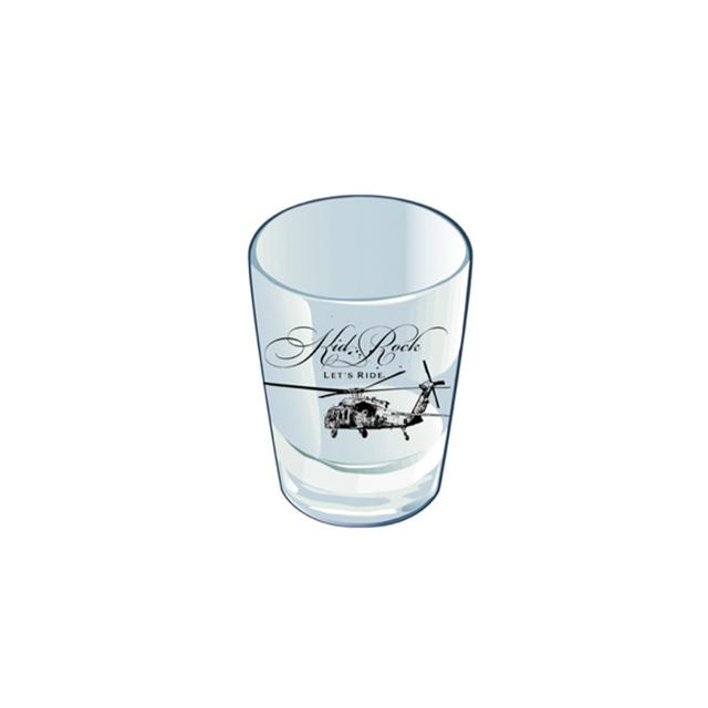 Kid Rock Let's Ride Shot Glass