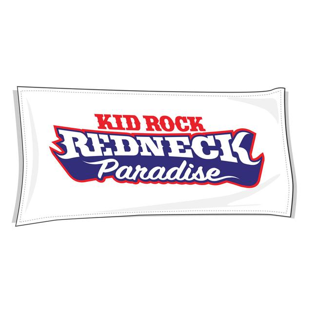 Kid Rock Redneck Paradise Beach Towel