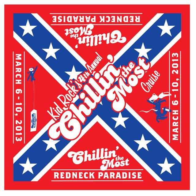 Kid Rock Rebel Flag Bandana