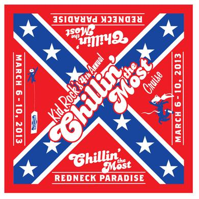 Kid Rock Rebel Flag Bandana