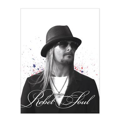 Kid Rock Rebel Soul Album Cover Collectors Print