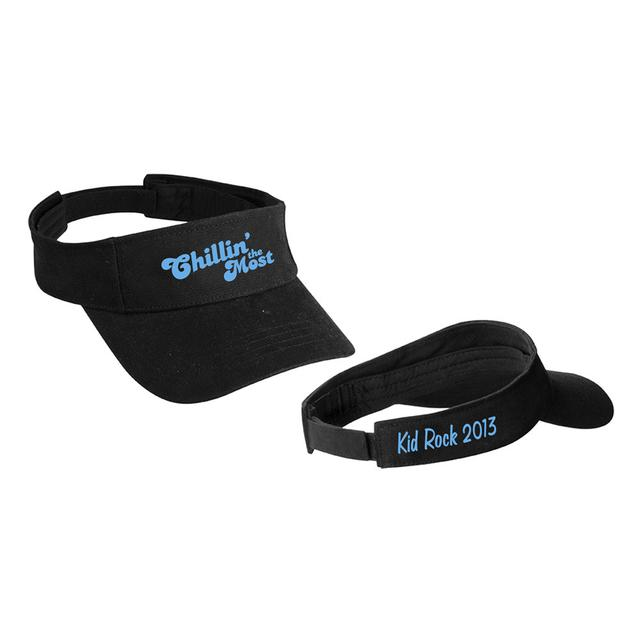 Kid Rock Black Cruise Visor