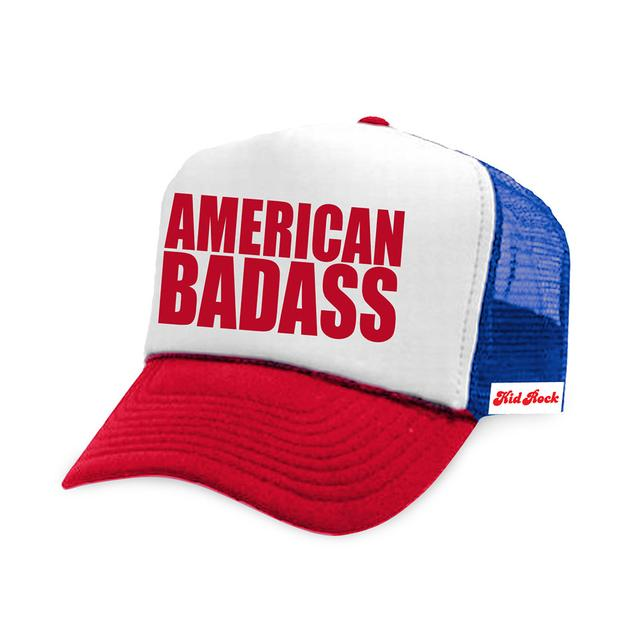 Kid Rock American Badass Trucker Hat