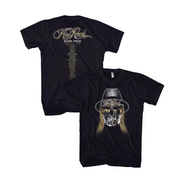 Kid Rock Skull Tour Tee