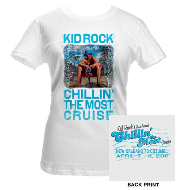 Kid Rock Cruise Photo Junior Tee