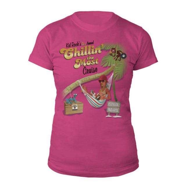 Kid Rock 2012 Chillin' The Most Cruise Jr. Tee